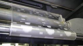 Production des matériaux d'emballage banque de vidéos