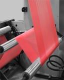 Production des sachets en plastique photographie stock libre de droits