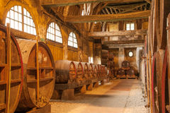 Production du Calvados Photos stock