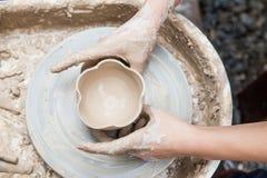 Production en céramique photo stock