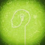 Production of ideas Stock Photo