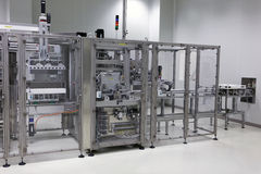 Production of infusion solutions on the Solopharm plant Royalty Free Stock Images
