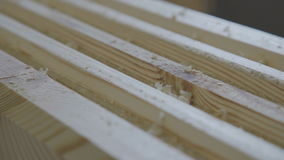 Production of laminated veneer lumber: mechanized production. P stock footage