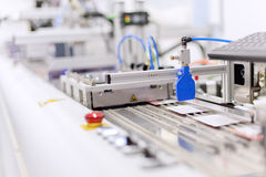 Production line Royalty Free Stock Photo