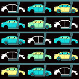 Production line of cars Royalty Free Stock Photography