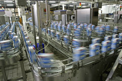 Production line in factory Stock Photography