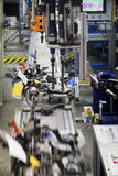 Production Line of MacPherson suspension. In a Factory Royalty Free Stock Photo