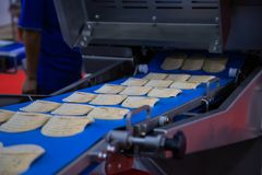 Meat slicer machine royalty free stock image