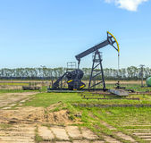 Production of mineral oil in Usedom Royalty Free Stock Photography