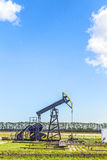 Production of mineral oil in Usedom Royalty Free Stock Images