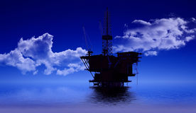 Production of petroleum Stock Photography