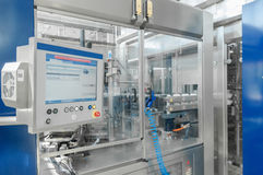 For the production of plastic bottles factory Stock Image