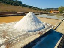 Production of Salt by Evaporation Saline Stock Images