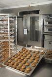 Production of tasty cakes Royalty Free Stock Photos