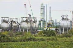 Production très néfaste d'usine d'ammoniaque Photo stock