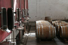 Production vinicole Images libres de droits