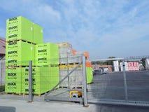 Production warehouse Stock Image
