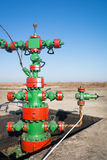Production wellhead Royalty Free Stock Photo
