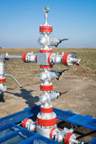 Production wellhead Stock Images