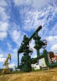 Production wellhead Stock Photography