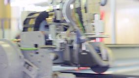Production of Windows: diamond cutting glass stock video footage