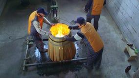 Production of wine barrels