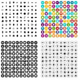 100 productiveness icons set vector variant. 100 productiveness icons set vector in 4 variant for any web design isolated on white vector illustration