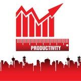 productivité Photographie stock libre de droits