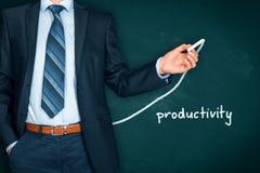 Productiviteitsverhoging Stock Afbeelding