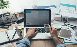 Productivity and deadlines Royalty Free Stock Photography