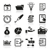 Productivity Icons Stock Photography