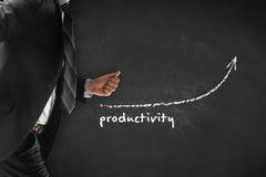 Productivity increase Royalty Free Stock Photography