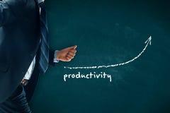 Productivity increase Stock Image