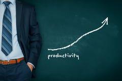 Productivity increase Royalty Free Stock Image