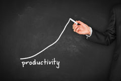 Productivity increase Royalty Free Stock Images