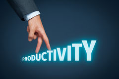 Productivity increase Royalty Free Stock Photography