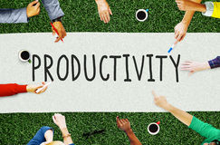 Productivity Production Capacity Efficiency Concept Royalty Free Stock Images