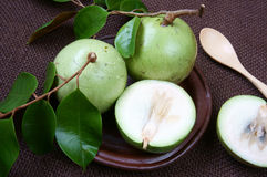 Producto agrícola de Vietnam, fruta de la leche, manzana de estrella Imágenes de archivo libres de regalías