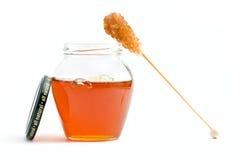 Producto alimenticio natural de la miel Fotografía de archivo