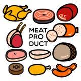 Producto de carne Fotos de archivo