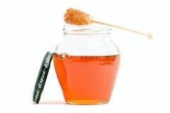 Producto de la abeja del alimento de la miel Fotografía de archivo libre de regalías