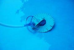 Producto de limpieza de discos de la hoja de la piscina Imágenes de archivo libres de regalías