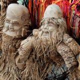 Producto del arte de la raíz de bambú Imagen de archivo libre de regalías