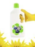 Producto ecológico de limpieza Foto de archivo libre de regalías