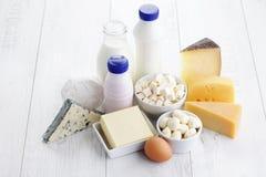 Producto lácteo Fotografía de archivo libre de regalías
