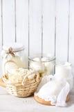 Producto lácteo fresco foto de archivo libre de regalías