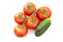 Producto-vehículos frescos de vegetables Fotos de archivo libres de regalías