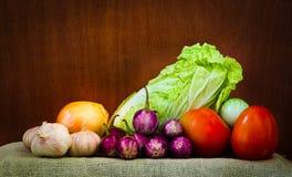 Producto-vehículos frescos de vegetables Fotografía de archivo