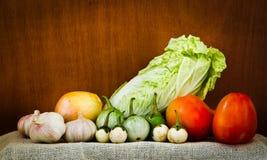 Producto-vehículos frescos de vegetables Foto de archivo
