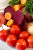 Producto-vehículos frescos de vegetables Imagenes de archivo